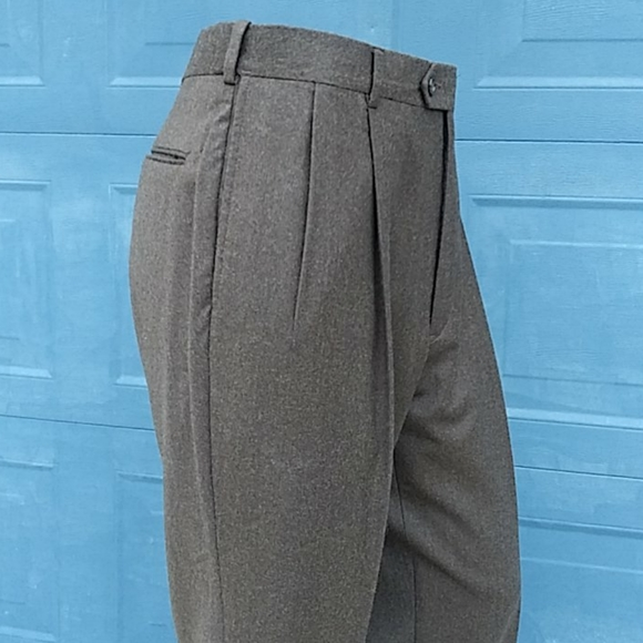 Austin Reed Pants Austin Reed Traditional Pleated Wool Trousers Poshmark